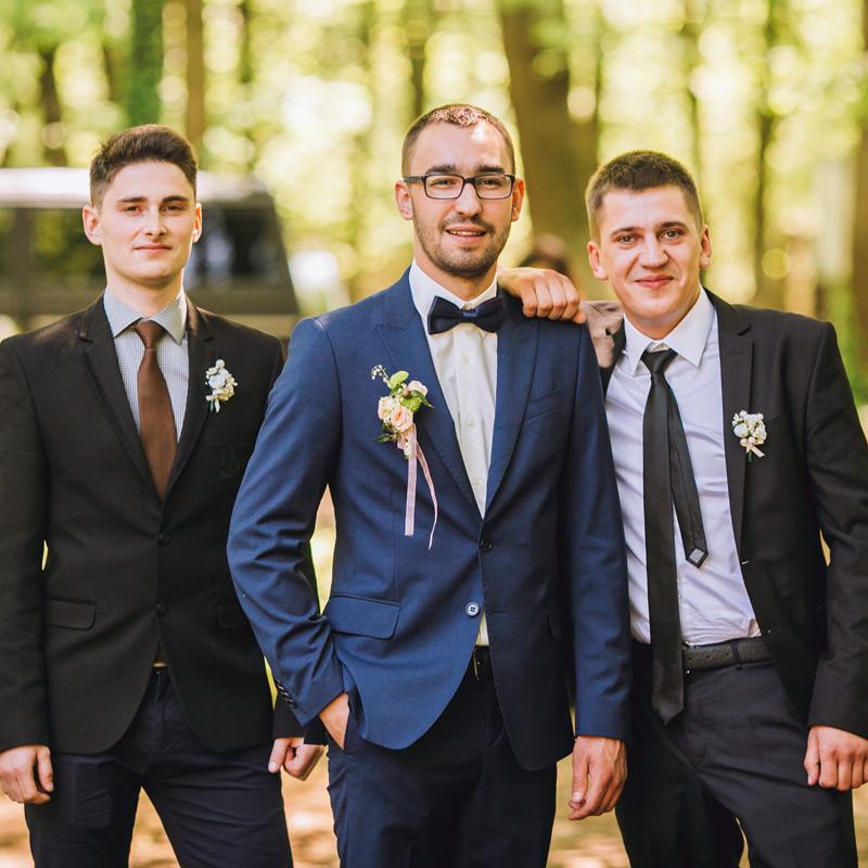 Der Hochzeitsanzug
