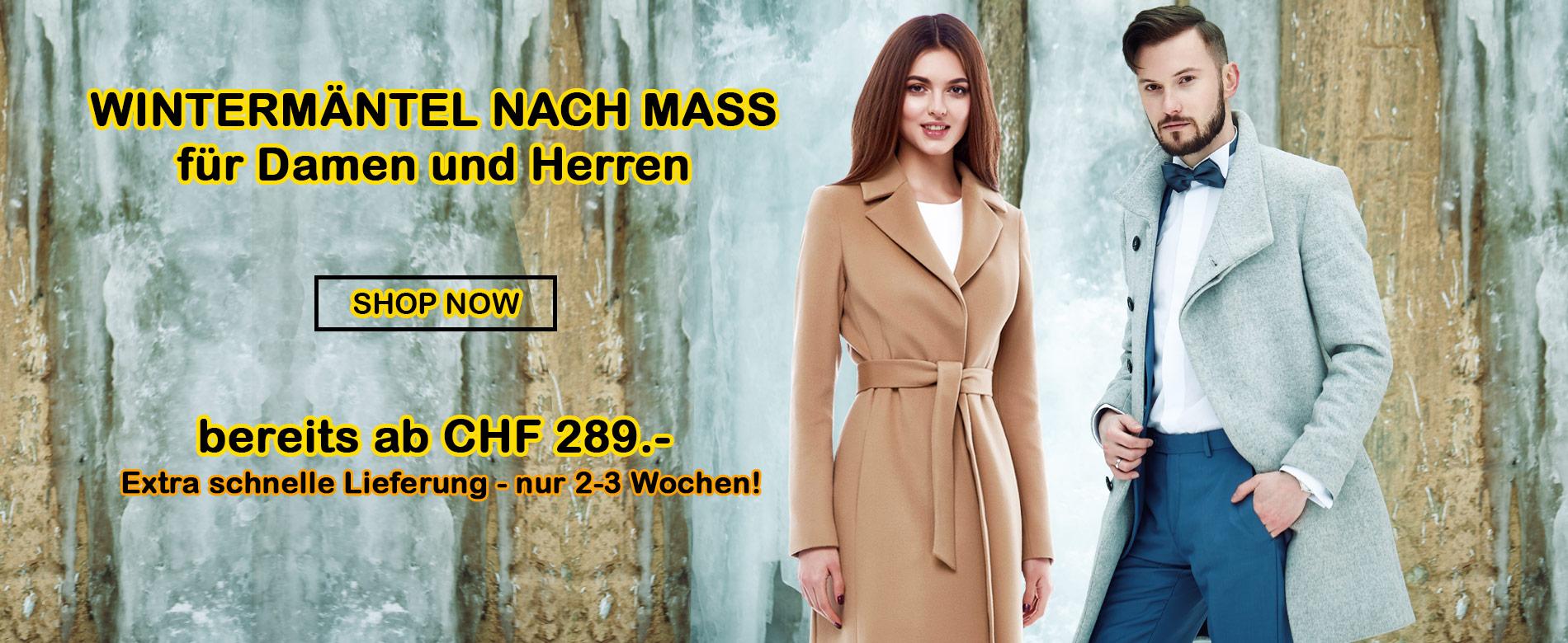 designer fashion 53b11 35964 Wintermantel - Massgeschneiderter Wintermantel ...